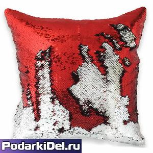 Наволочка ХАМЕЛЕОН 40*40 (ПРЕМИУМ) Красная