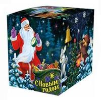 """Коробка подарочная для КРУЖКИ """"С Новым годом"""""""