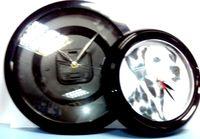 Часы пластиковые круг d-285мм (вставка 243,5мм) 6цветов