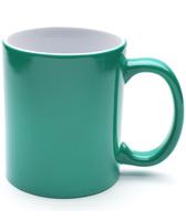 Кружка ХАМЕЛЕОН (зеленая) Премиум