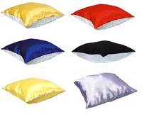 Подушка с наволочкой 30х30см (цвета в ассортименте)