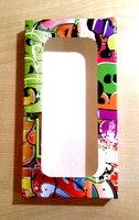 """Коробка подарочная  для ЧЕХЛА с окном """"Граффити"""" (143х75х15мм)"""