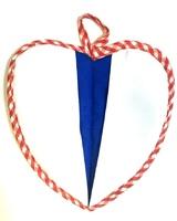 Прихватка - СЕРДЦЕ (красная/синяя)