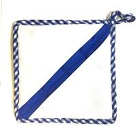 Прихватка - КВАДРАТ (синяя)