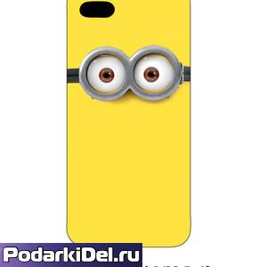 """Чехол пластиковый IPhone 6+ """"белый"""" (вставка под субл.)"""