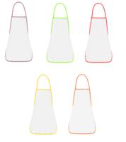Фартук взрослый №2 для сублимации, цвета канта в ассортименте