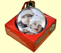 Шарик елочный (новогодний) d=78 мм (в коробке)