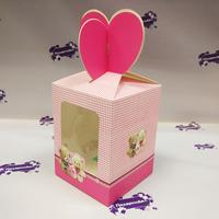 Коробка подарочная для КРУЖКИ с окном МИШКИ в ассортименте