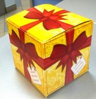"""Коробка подарочная для КРУЖКИ """"Самому важному человеку"""""""