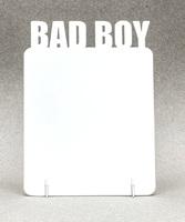 """Фоторамка металл """"Bad Boy"""" 168x122х2мм (для сублимации)"""