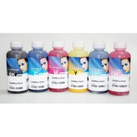 Комплект сублимационных чернил (6цветов) InkTec (100мл.)