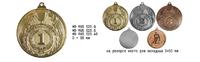 Медаль золото  (+вкладыш 50мм) без ленты MDRus525 COPY COPY
