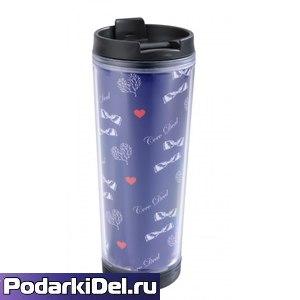 ТермоСтакан 330мл.(под полиграфическую вставку)