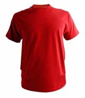 Футболка мужская (КРАСНАЯ) 155-160г/м2 размерный ряд 44-52 на выбор (Узбекистан)