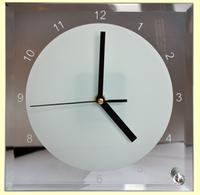 Часы  квадратные (ЗЕРКАЛО) 200*200*5мм