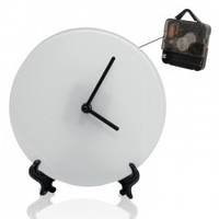Часы стеклянные d-20см (текстурные)