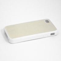 """Чехол силиконовый """"белый"""" для IPhone 4/4S"""
