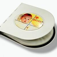 Бокс для CD/DVD-дисков ОВАЛЬНЫЙ (на 12шт.)