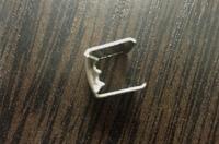 Металлический коннектор (зажим) для ленты, ширина 15мм