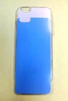 """Чехол пластиковый IPhone 6 """"белый"""" (+вставка для сублимации)"""