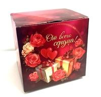 """Коробка подарочная для КРУЖКИ """"От всего сердца"""""""