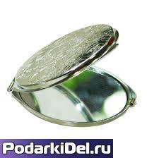 Зеркало металлическое КРУГЛОЕ