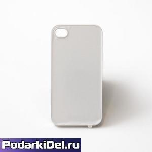 """Чехол пластиковый """"белый"""" для IPhone 5/5S (со вставкой под сублимацию)"""