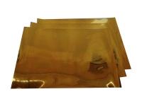 Пластик pvc (ЗОЛОТО) для струйной печати (200х250mm) толщина 0,3mm (1лист)