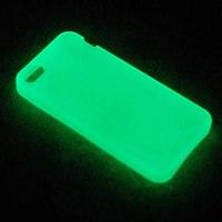 """Чехол пластиковый """"флуоресцентный"""" (глянец) для IPhone 5/5S (для вакуумной машины)"""