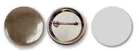 Заготовка d-44мм Значок круглый (металл/булавка)