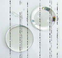 Заготовка d-58мм Значок круглый (металл/булавка)